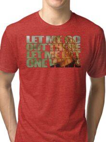 ONE LAST WAVE SWAZYE!  Tri-blend T-Shirt