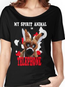 My Spirit Animal is Telephone  Women's Relaxed Fit T-Shirt