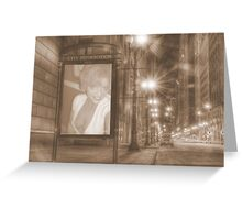 in the CITY!! Greeting Card
