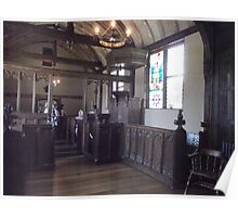 The Chapel at Ightham Mote. Poster