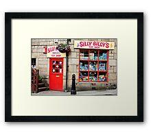 Silly Billys Framed Print