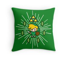 Save the Princess Throw Pillow