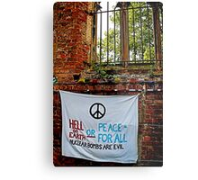 Peace and Ecology Festival, Liverpool July 4th 2010 Metal Print