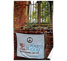 Peace and Ecology Festival, Liverpool July 4th 2010 Poster