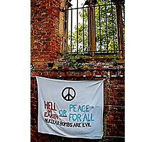 Peace and Ecology Festival, Liverpool July 4th 2010 Photographic Print