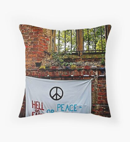 Peace and Ecology Festival, Liverpool July 4th 2010 Throw Pillow