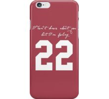 22 iPhone Case/Skin