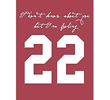22 Photographic Print