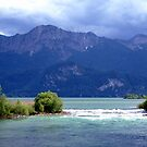 Lake and River. by Daidalos