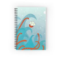 A Bad Day For Sailors Spiral Notebook