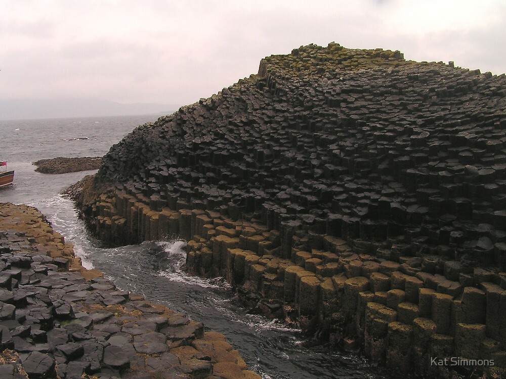 Staffa Rock Formations by Kat Simmons