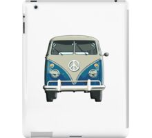 Volkswagen Van, Camper, Split screen, 1966 Volkswagen, Kombi (North America) iPad Case/Skin