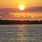 Independence Day SunSet  by Diane Trummer Sullivan