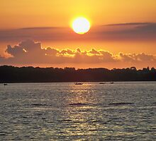 Independence Day SunSet  by Diane Trummer Sullivan