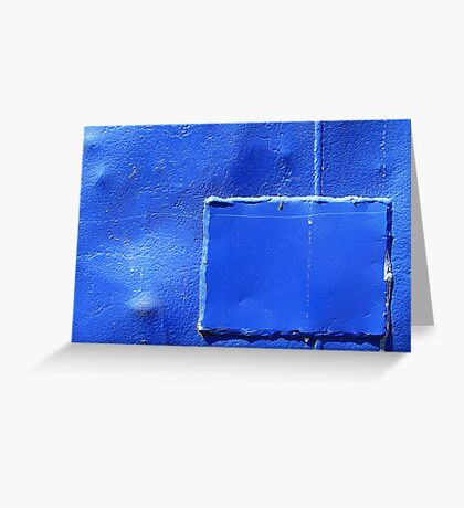 Cobalt reconstruction Greeting Card