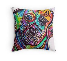 Lovable LAB Throw Pillow