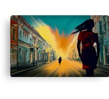 THE SPIRITS IN ME Canvas Print
