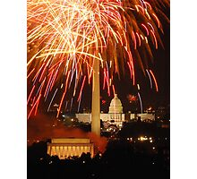 Happy Birthday USA Photographic Print