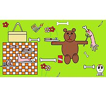 Teddy Bears Picnic Photographic Print
