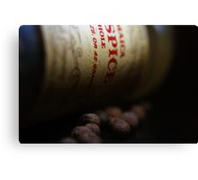 AllSpice Side Canvas Print