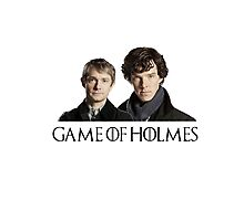Game of Holmes Photographic Print