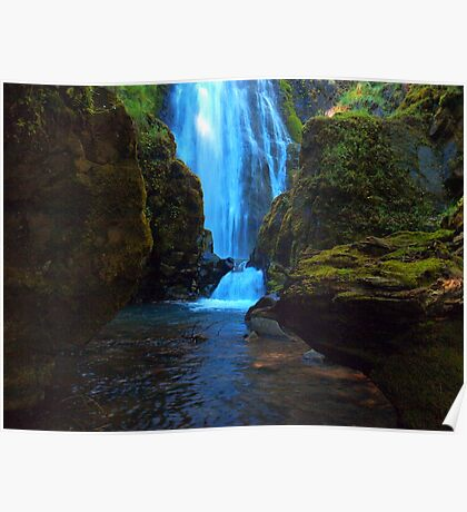 Susan Creek Waterfall Series Poster