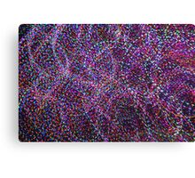 Abstract Multi-colored Light Painting Art Photography Horizontal Canvas Print