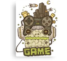Game Play Canvas Print