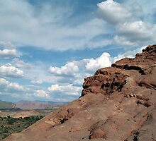 North Window Arch: Arches National Park by RocklawnArts