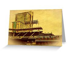 America's Finest Downtown Ballpark Greeting Card