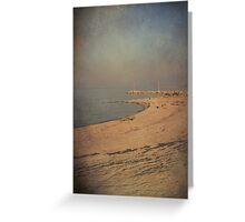 When You Don't Look Back I Guess The Feeling Starts To Fade Away Greeting Card