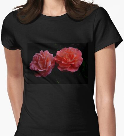 Just Peachy......... Womens Fitted T-Shirt