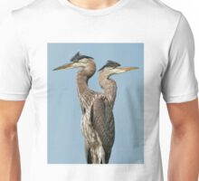 Great Blue Herons Unisex T-Shirt