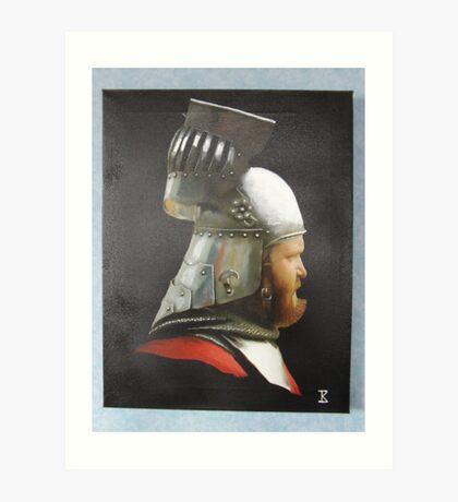 Its my crash helmet Art Print