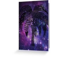 Space Palm Tree - Postcard Greeting Card