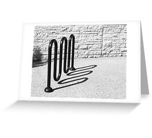 SQUIGGLE Greeting Card