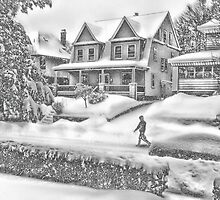Last Snow for Montclair 2015 by Kellice