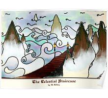 Celestial Staircase Poster