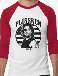 Plissken For President 2016 Men's Baseball ¾ T-Shirt
