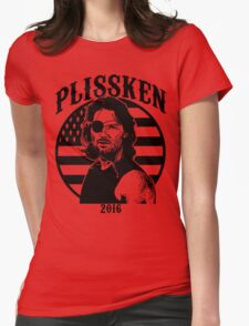 Plissken For President 2016 Womens Fitted T-Shirt