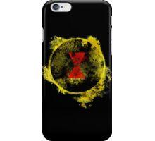 Black Widow Paint Splatter Logo iPhone Case/Skin