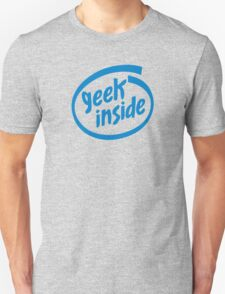 Geek Inside - Blue T-Shirt