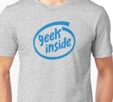 Geek Inside - Blue Unisex T-Shirt