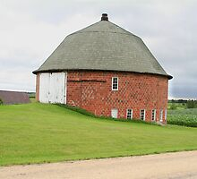 Round Barn  by KathyBerger