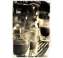 Espresso Extraction Poster
