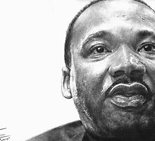Martin Luther King Jr. by Richie Francis