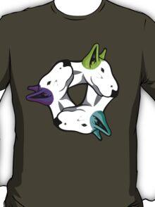 Interlinked Bull Terriers T-Shirt