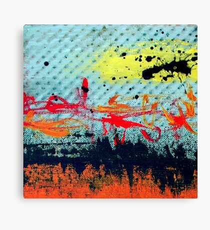 Call Me Crazy Canvas Print