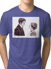 """Human Nature"" Doctor Who Inspired Sketch Tri-blend T-Shirt"