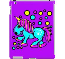 Unicorn Colour Blue and Pink  iPad Case/Skin